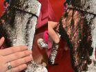 "Louboutin lança botas com ""pele de unicórnio"""