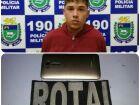 Jovem é preso pela Rotai depois de roubar bolsa de trabalhadora