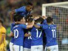 Brasil vence Austrália por 4 a 0; Diego Souza faz dois gols