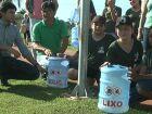 Lagoa Maior ganha lixeiras ecológicas