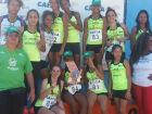 Com folga, atletismo feminino de Três Lagoas conquista primeiro lugar no estadual