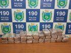 PM apreende droga que renderia R$2 milhões para traficantes