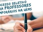 Inscrições abertas para seleção de professores temporários