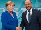 Merkel e Schulz disputam eleições para chanceler no fim de setembro