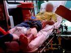 Durante briga, homem é baleado e é levado para o hospital