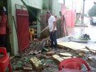 Vendaval e granizo causam estragos em bairros de Três Lagoas