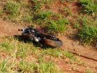 'A moto voou', diz filho que assistiu morte do pai em acidente