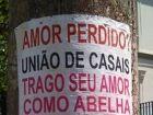 Publicidade em postes e árvores renderá multa de R$ 1,7 mil