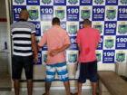 Polícia desarticula trio suspeito de traficar no Jardim Moçambique em Três Lagoas