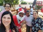 Caps faz festa de Natal para pacientes