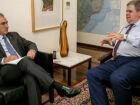 Governador discute com governo federal recuperação dos estragos da chuvas