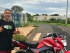Paranaibense morre em SP após colidir moto em caminhão. ATUALIZADA