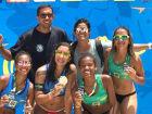 Aninha e Carol ficam em 3º lugar no brasileiro Sub 19