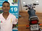 Receptador é preso após circular com moto adquirida em grupo de compra e venda