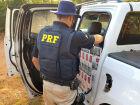 Motorista é flagrado com 30 mil maços de cigarros contrabandeados em Três Lagoas