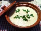 Sopa de couve-flor cremosa