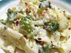 Parpadelle ao molho de brócolis