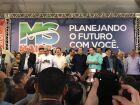 Ex-ministro Meirelles é anunciado como o candidato à Presidência da República durante a festa do MDB