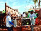 Região da Vila Piloto recebe operação de limpeza