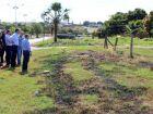 Longen visita três áreas para construção de um Centro Integrado Sesi Senai