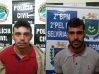 Dupla que matou taxista aguarda transferência para Fernandópolis