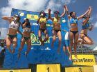 Atletas de Três Lagoas vencem terceira etapa do Brasileirão de Vôlei de Areia