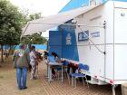 Castramóvel realiza atendimento e vacina animais contra raiva no Jardim Carandá