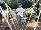 Crianças da Escola São Jerônimo apresentam projeto na Praça Matriz