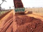 Estradas rurais receberam manutenção em Aparecida do Taboado