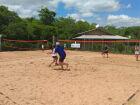 Três-lagoense pega segundo lugar no estadual de Beach Tennis
