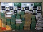 DOF Apreende mais de uma tonelada de maconha em Amambai