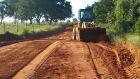 Prefeitura de Brasilândia realiza recuperação de estradas