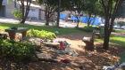 Menor sai de casa para morar em praça e mãe faz apelo