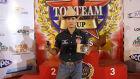 Montador de touro ganha circuito e mira em competição americana