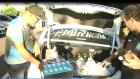 Taxistas arrecadam alimentos para caminhoneiros de Três Lagoas