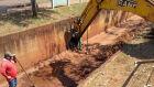 Brasilândia realiza ação de limpeza do Córrego da Aviação