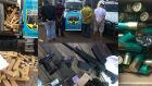 PMR apreende mais de uma tonelada de maconha, armas e munições na fronteira com o Paraguai