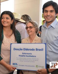 No último dia, 15 aconteceu a inauguração da Maternidade Dr. Monir Thomé e Unidade Irmã Genny Santini. A ocasião reuniu autoridades que puderam prestigiar a obra entregue pela Eldorado Brasil .