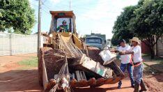 Região do bairro Vila Haro será a próxima a receber mutirão de limpeza