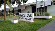 Bandido pula muro com objetos de furto e é preso em flagrante por dois policiais civis