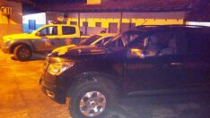 Patrulha Rural recupera caminhonete roubada e dupla é presa