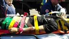 Morre motociclista que teve as pernas esmagadas em acidente