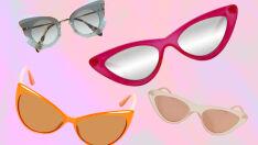 O óculos gatinho é renovado e continua sendo tendência