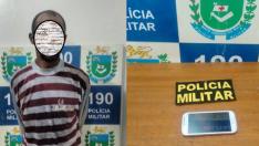 Homem é preso após furtar celular no Santa Mônica