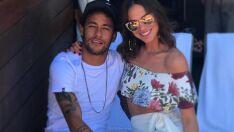 Neymar e Bruna Marquezine estiveram em eventos separados e não se viram em SP