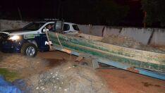 PM de Selvíria prende três indivíduos por pesca ilegal