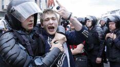 Mais de 1,5 mil pessoas são presas na Rússia em protestos
