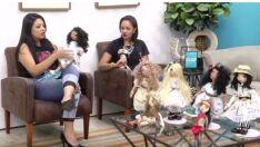 Artesã fabrica bonecas humanizadas