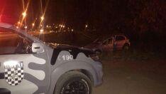 Vítima pula de carro em movimento e sequestrador é preso pela Rotai