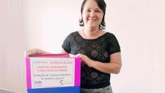 Paciente em luta contra metastase faz campanha para arrecadar toalhas brancas